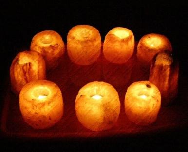 himalayan salt candle holder 10