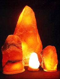 natural salt lamp 36