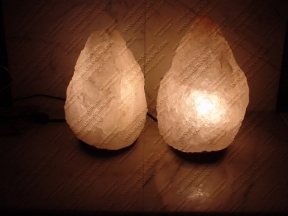 natural white salt lamp 11