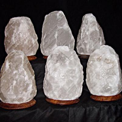 natural white salt lamp 13
