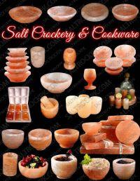 Rock Salt plates, platters, dishes, bowls & beverages glassware