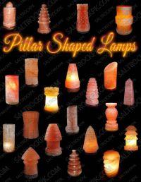 Pillar salt lamps